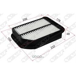 Фильтр воздушный SUZUKI GRAND VITARA 05- (Sat) ST1378065J00