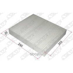 Фильтр салона CHEVROLET CRUZE 09- (Sat) ST13271190