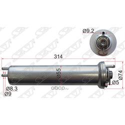 Топливный фильтр с регулятором давления (Sat) ST13321709535