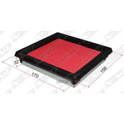 Фильтр воздушный NISSAN MARCH/MICRA K11 92-02 /K12 02-10/NOTE E11 05- (Sat) ST1654641B00