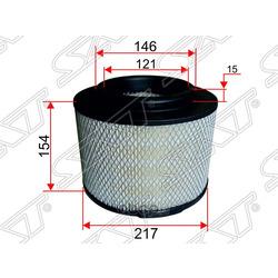 Фильтр воздушный TOYOTA HILUX 1KDFTV 04- (Sat) ST178010C010