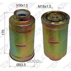 Фильтр топливный TOYOTA COASTER 93-/DYNA 88-02/ LAND CRUISER 80 1HD/1HZ 90-98 (Sat) ST2330356040