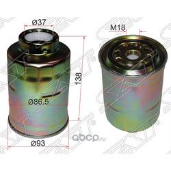 Фильтр топливный TOYOTA LAND CRUISER 90-/PRADO 90/120 96-/DYNA TOYOACE 83- DIESEL (Sat) ST2330364010
