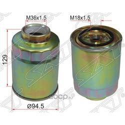 Фильтр топливный TOYOTA COROLLA/VERSO CDE120 1CDFTV 03-06/ LAND CRUISER 100 1HD 98-07(две прокладки) (Sat) ST2339064480
