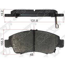 Колодки тормозные FR HONDA CIVIC 91- (Sat) ST45022S04G01