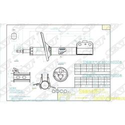 Стойка передняя TOYOTA CAMRY/GRACIA/QUALIS 96-01 RH (Sat) ST4851080138