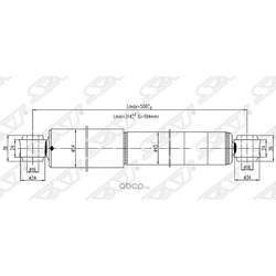 Амортизатор (Sat) ST56210T6226