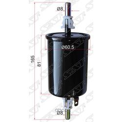 Фильтр топливный CHEVROLET LACETTI 05-/LANOS 05-/MATIZ 05-/DAEWOO NUBIRA 97- (Sat) ST96335719