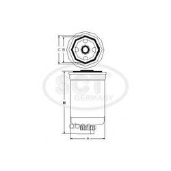 Топливный фильтр (SCT) ST354