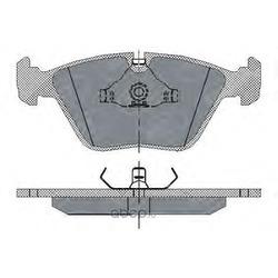 Колодки торм.FR (SCT) SP152