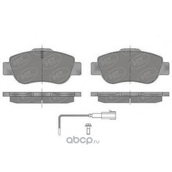 Комплект тормозных колодок, дисковый тормоз (SCT) SP487