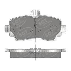 Колодки торм.FR (SCT) SP411