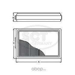 Салонный фильтр (SCT) SA1113