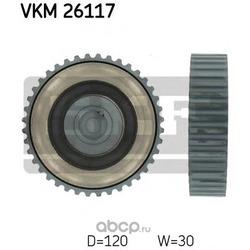 Паразитный / Ведущий ролик, зубчатый ремень (Skf) VKM26117