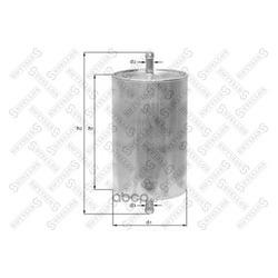 Топливный фильтр (Stellox) 2100061SX