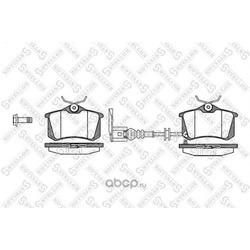 Комплект тормозных колодок (Stellox) 274041SX