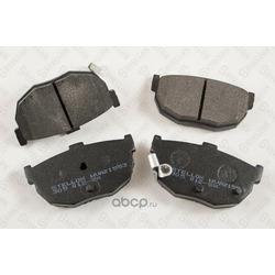 Комплект тормозных колодок, дисковый тормоз (Stellox) 305012SX