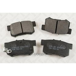 Комплект тормозных колодок, дисковый тормоз (Stellox) 336022SX