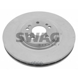 Диск тормозной передний вентилируемый (Swag) 10921950