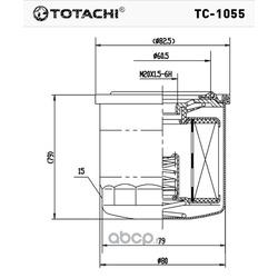 Масляный фильтр (TOTACHI) TC1055