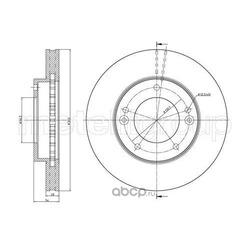 Тормозной диск (Trusting) DF1031