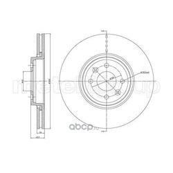 Тормозной диск (Trusting) DF1207