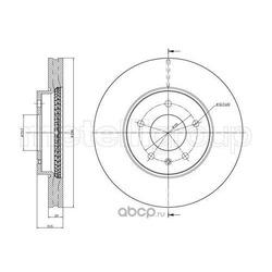 Тормозной диск (Trusting) DF1231