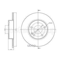 Тормозной диск (Trusting) DF232