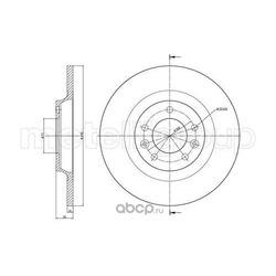 Тормозной диск (Trusting) DF872