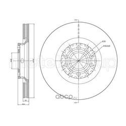 Тормозной диск (Trusting) DF925