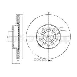 Тормозной диск (Trusting) DF932