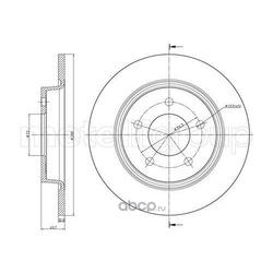 Тормозной диск (Trusting) DF962