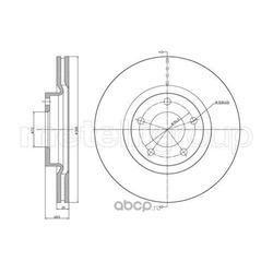 Тормозной диск (Trusting) DF988