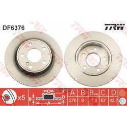 Тормозной диск (TRW/Lucas) DF6376