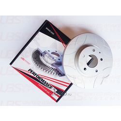 Диск тормозной, передний (UBS) BP2112003