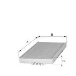 Фильтр, воздух во внутренном пространстве (UNIFLUX FILTERS) XC278