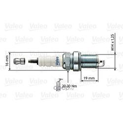 Свеча зажигания (Valeo) 246851