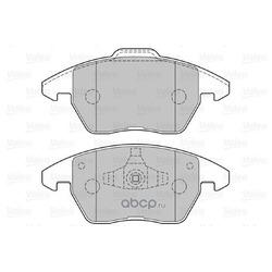 Комплект тормозных колодок, дисковый тормоз (Valeo) 301715