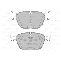 Комплект тормозных колодок (Valeo) 601130