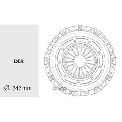 Корзина сцепления (Valeo) HDC117