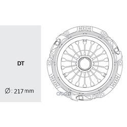 Корзина сцепления (Valeo) HDC37