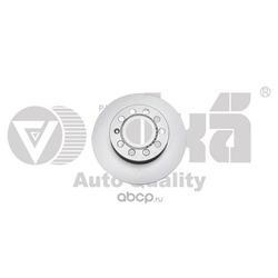 диск тормозной передний (256х22) (Vika) 66150022101