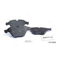 Тормозные колодки дисковые передние (Ween) 1510036