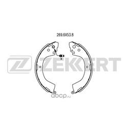 Колодки торм. бараб. зад Mitsubishi L200 III IV 96- L400 (PAOV) 95- (Zekkert) BK4023