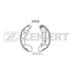Комплект тормозных колодок (Zekkert) BK4028