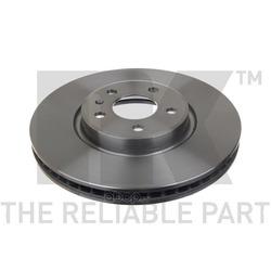 Диск тормозной передний / AUDI A-4,5,6,7, Q5 2,0-3,2 (30x320mm) 08 (Nk) 2047153
