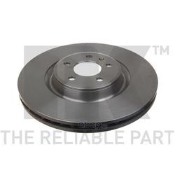 Диск тормозной передний / AUDI A-4,5,6,7, Q5 2,0-3,2 (30x345mm) 08 (Nk) 2047154