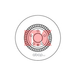 Диск тормозной передний / AUDI A-6,7, Q5 (34x356mm) 11 (Nk) 2047155