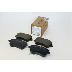Колодки тормозные MERCEDES C-Class W203 1.8-3.2/CDI 09/00 /T-Model S203/CL203 1.8-3.2/CDI 03/0 (KOTL) 1413KT