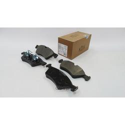 Колодки тормозные MERCEDES W164 (ML)/X164 (GL)/W211/W251 04 передние (KOTL) 1642KT